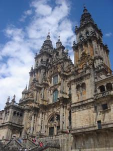 Die Kathedrale in Santiago de Compostela: Ziel vieler Pilger. Foto: Neva Micheva (GNU, Free Documentation License)