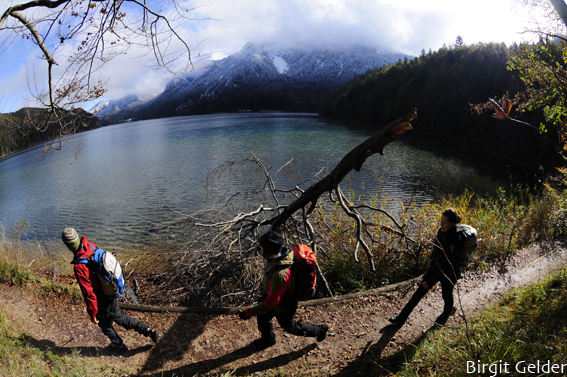 Am Alpsee. Foto: Birgit Gelder
