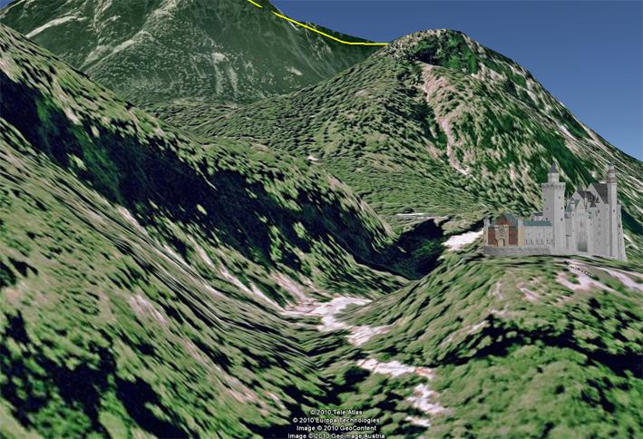 Eine der schönsten Allgäuer Schluchten ist die Pöllatschlucht, direkt neben dem Schloss Neuschwanstein.