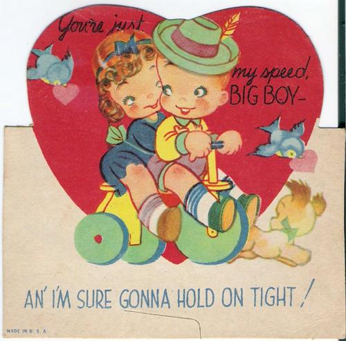 Auf romantischer Radtour am Valentinstag. Quelle: Flickr