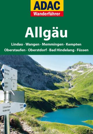 Startscreen der Allgäu-Wanderapp