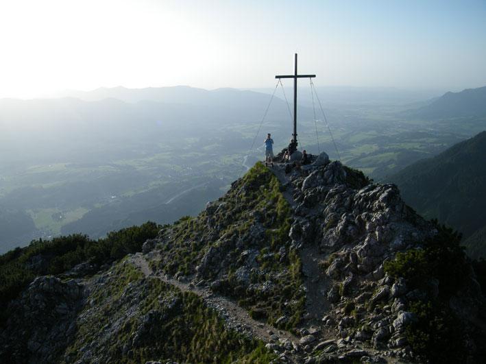 Gipfelfoto auf dem Rubihorn. Foto: Silke Hertel