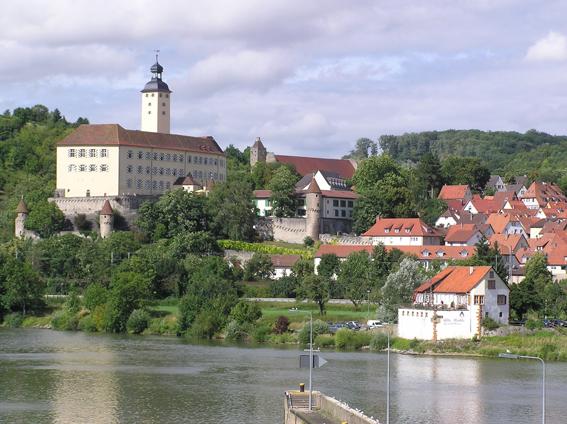 Gundelsheim. Foto: Touristikgemeinschaft Odenwald