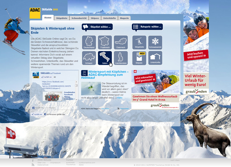 ADAC SkiGuide Online
