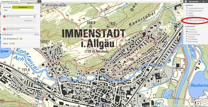 Die amtliche Topo-Karte von Deutschland ist nun wieder verfügbar.