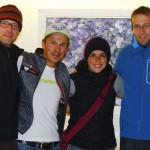Das outdooractive.com-Team mit Sebastian Haag