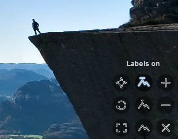 Labels on