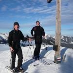 Die Geschäftsführer von ALPSTEIN Tourismus: Felix Schädler (li) und Hartmut Wimmer