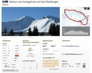 Schutzgebiete: Informationen in bestehenden Touren