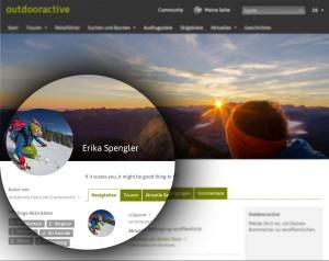 Blog neues Profil