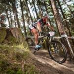 Mit dem Lexware Mountainbike Team unterwegs auf schmalen Trails