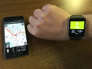Navigation Android Wear