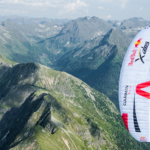 Outdooractive am Start bei den Red Bull X-Alps 2017