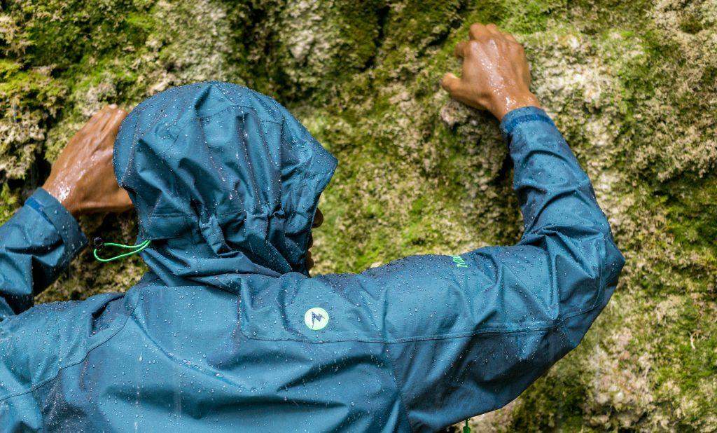 Verlässlicher Wasserschutz der Eclipse Jacket