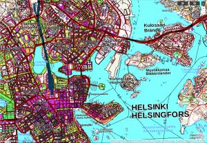 topografische Karte Finnland