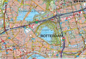 topografische Karte Niederlande