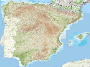 Topo-Karten für Spanien jetzt auf Outdooractive verfügbar