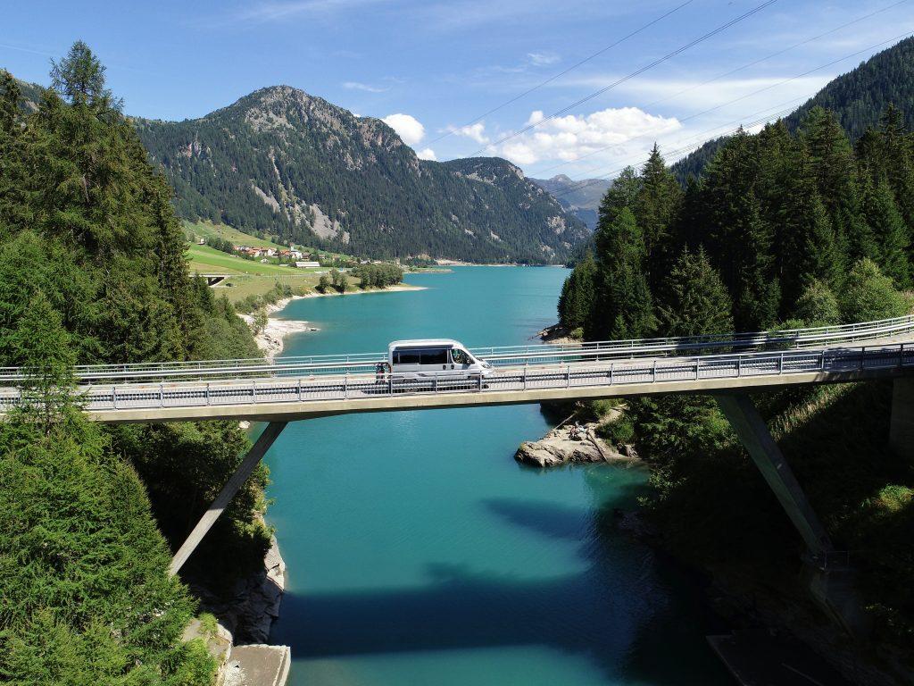 Auf der Campervan Challenge durch das Alpenland