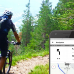 Die Navigations-Funktion in der Outdooractive App