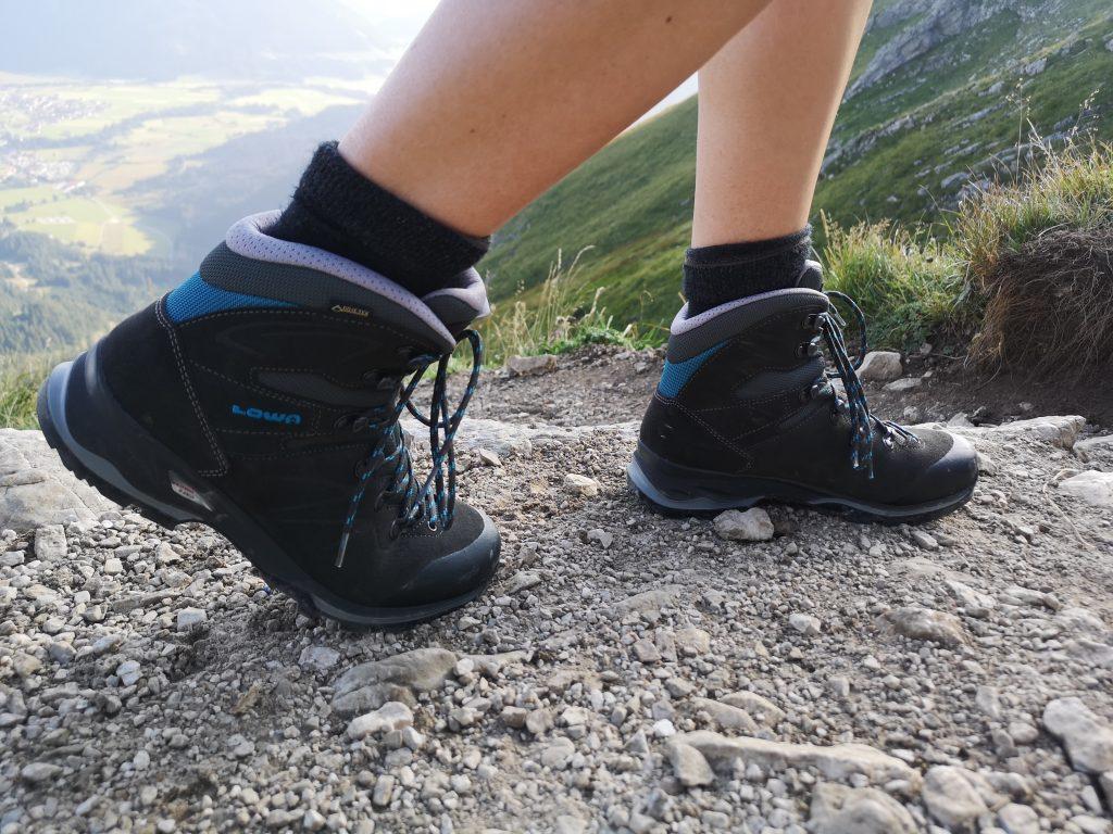 Klimatisierte Füße im Lowa Trekkingschuh
