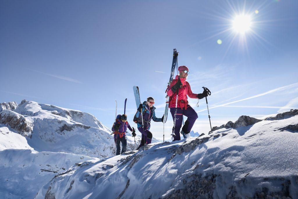 SALEWA: Auf Skitour