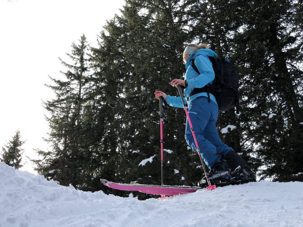 Auf Skitour mit Skifellen von POMOCA