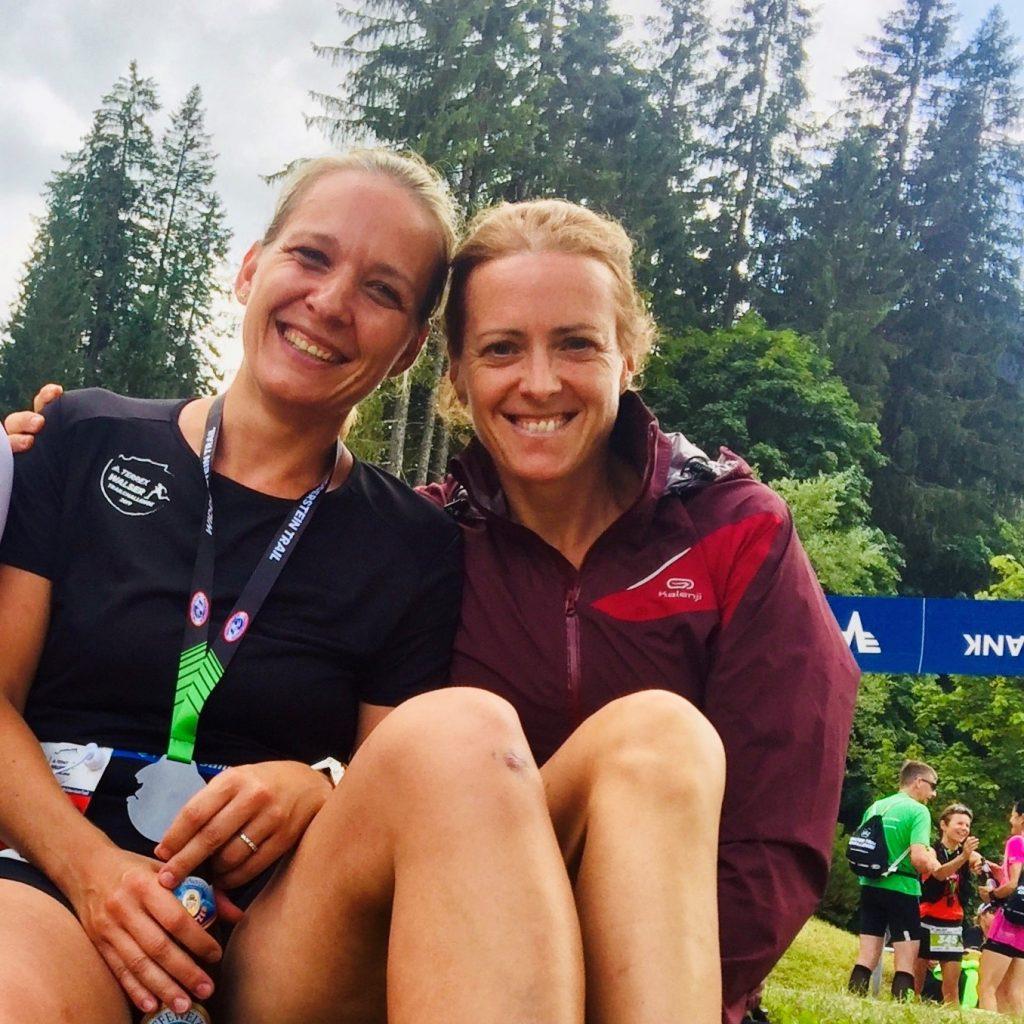 Claudia und Kerstin - die beiden Trailrunnerinnen
