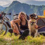 Mit E-Bike und Hund auf Fahrradreise durch Europa