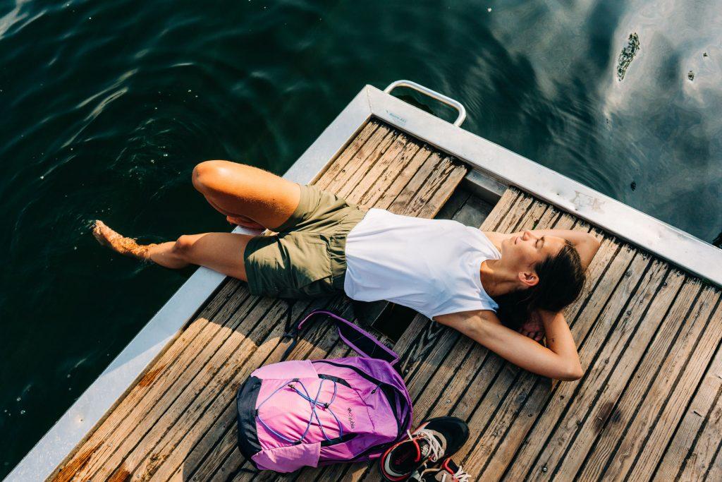 Entspannung an der Sechs-Seen-Platte in Duisburg