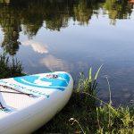 Das Viva con Agua Stand-Up-Paddle-Board im Test