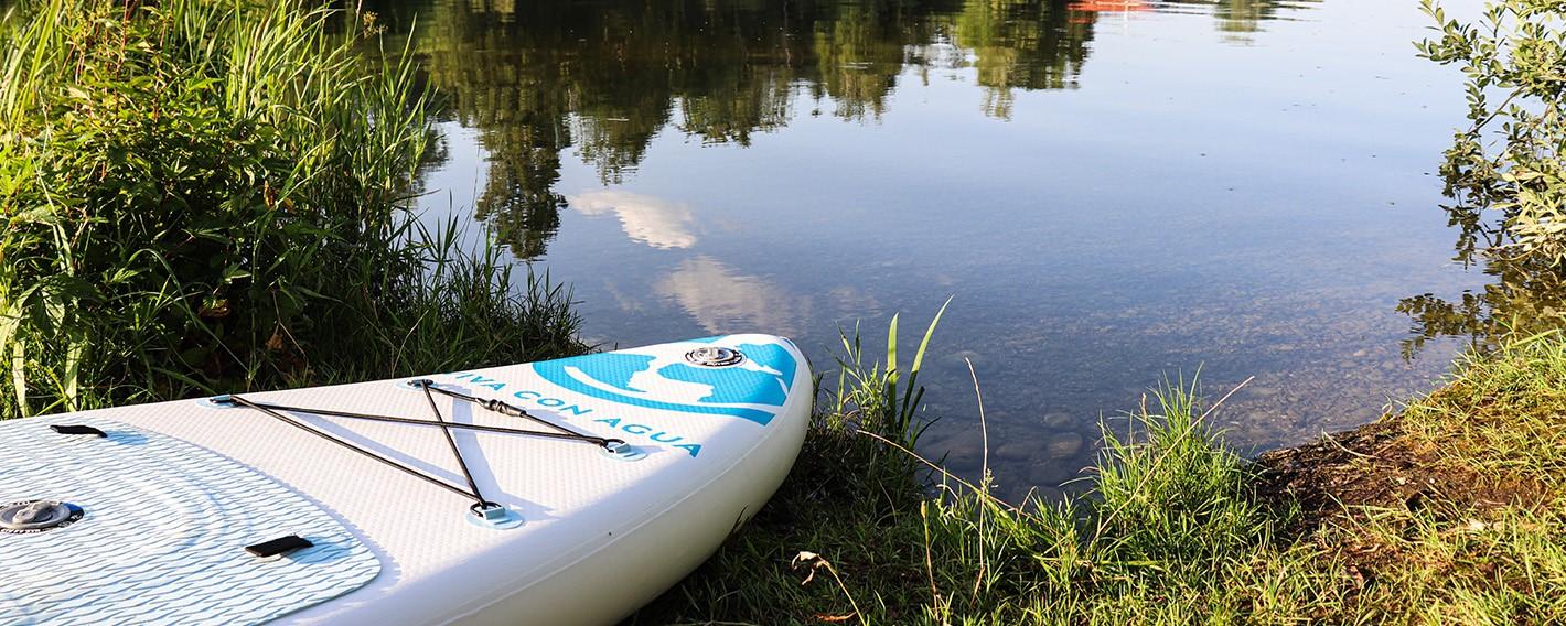 Im Test: Das Viva con Agua Stand-Up-Paddle Board