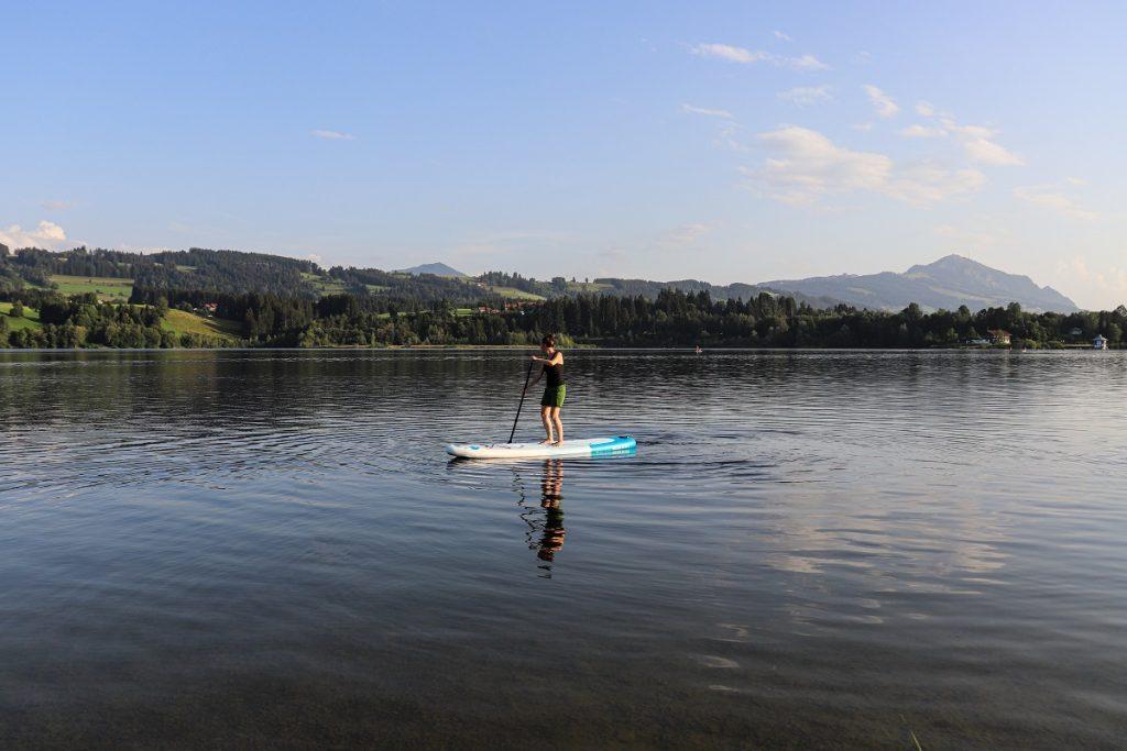 Das Viva con Agua SUP Board bei Outdooractive im Test