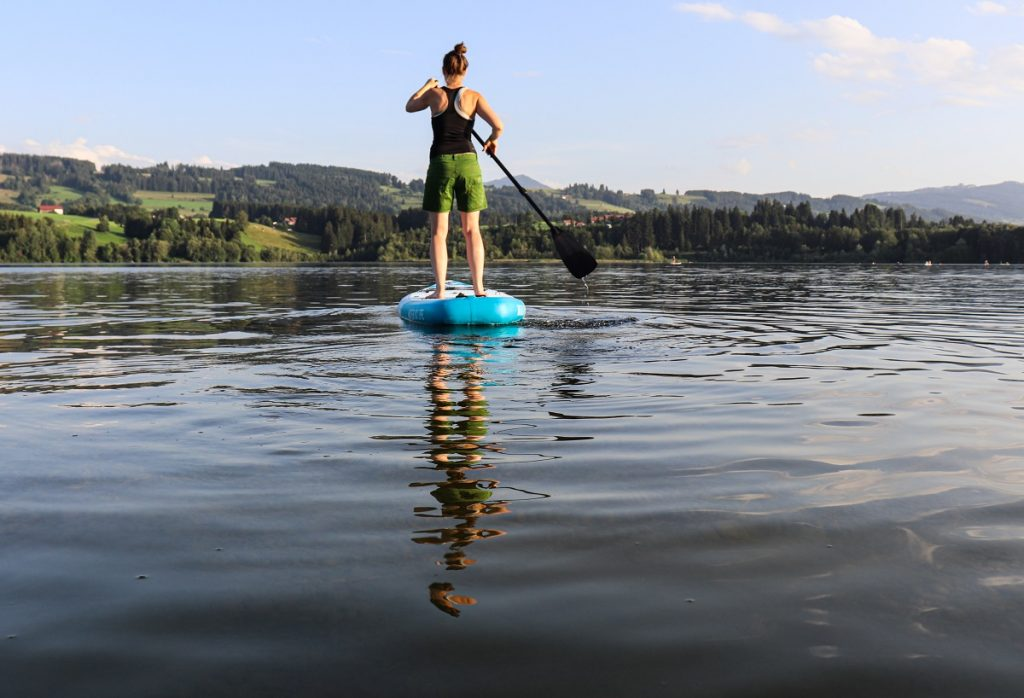 Outdooractive Test SUP Board Viva con Agua