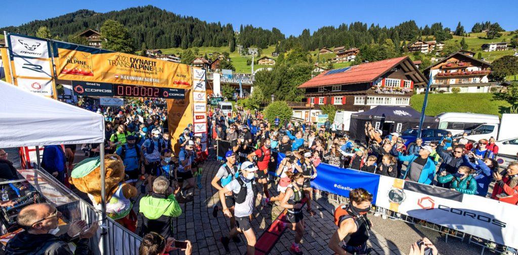 Start Transalpine Run 2021